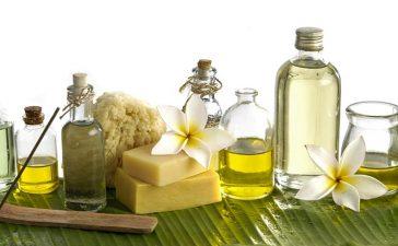 الزيوت الطبيعية لتكثيف الشعر