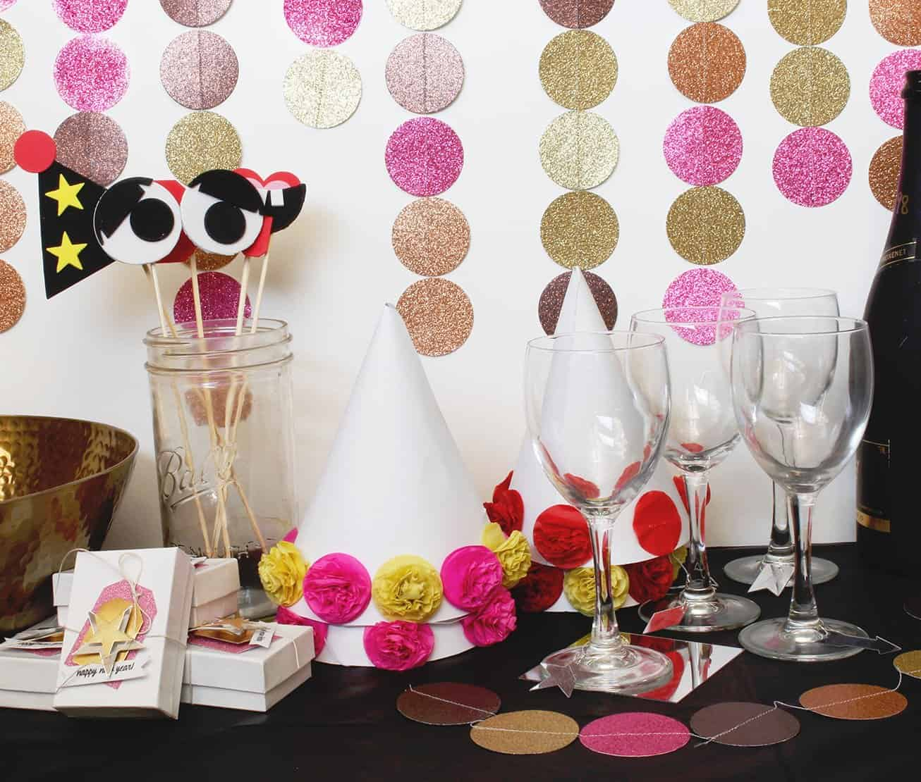 new years eve party decor ideas - 706×600