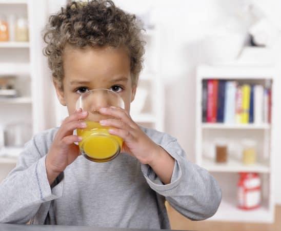 عصائر صحية للأطفال