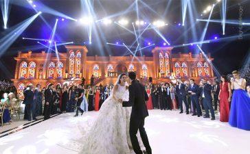 حفلات الزفاف الأغلى ثمنا