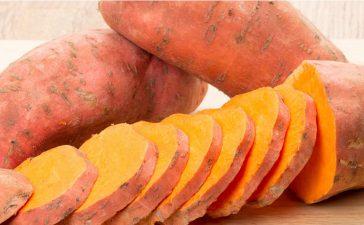 البطاطا الحلوة لعلاج الإمساك