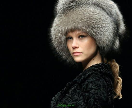 قبعة الرأس الفرو