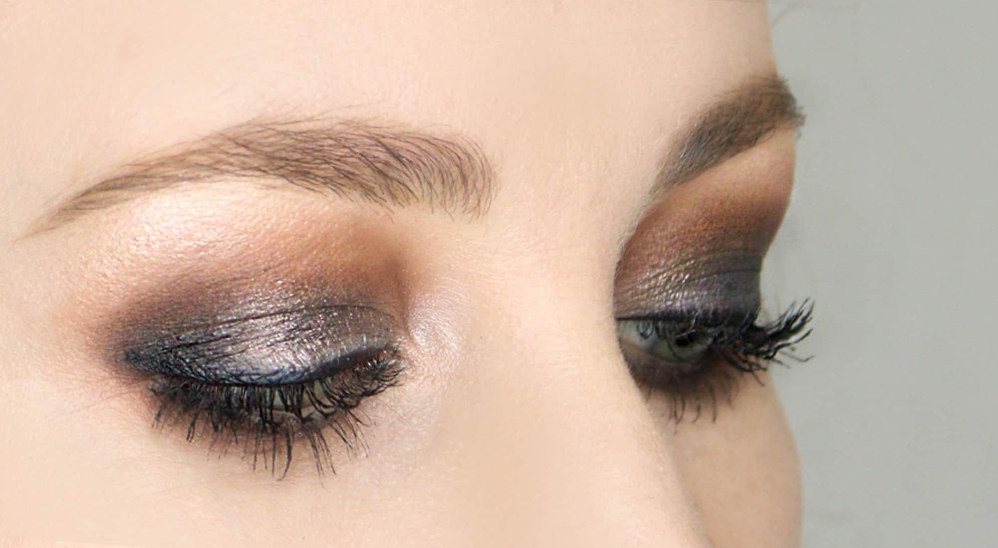 ماكياج عيون للبشرة الداكنة