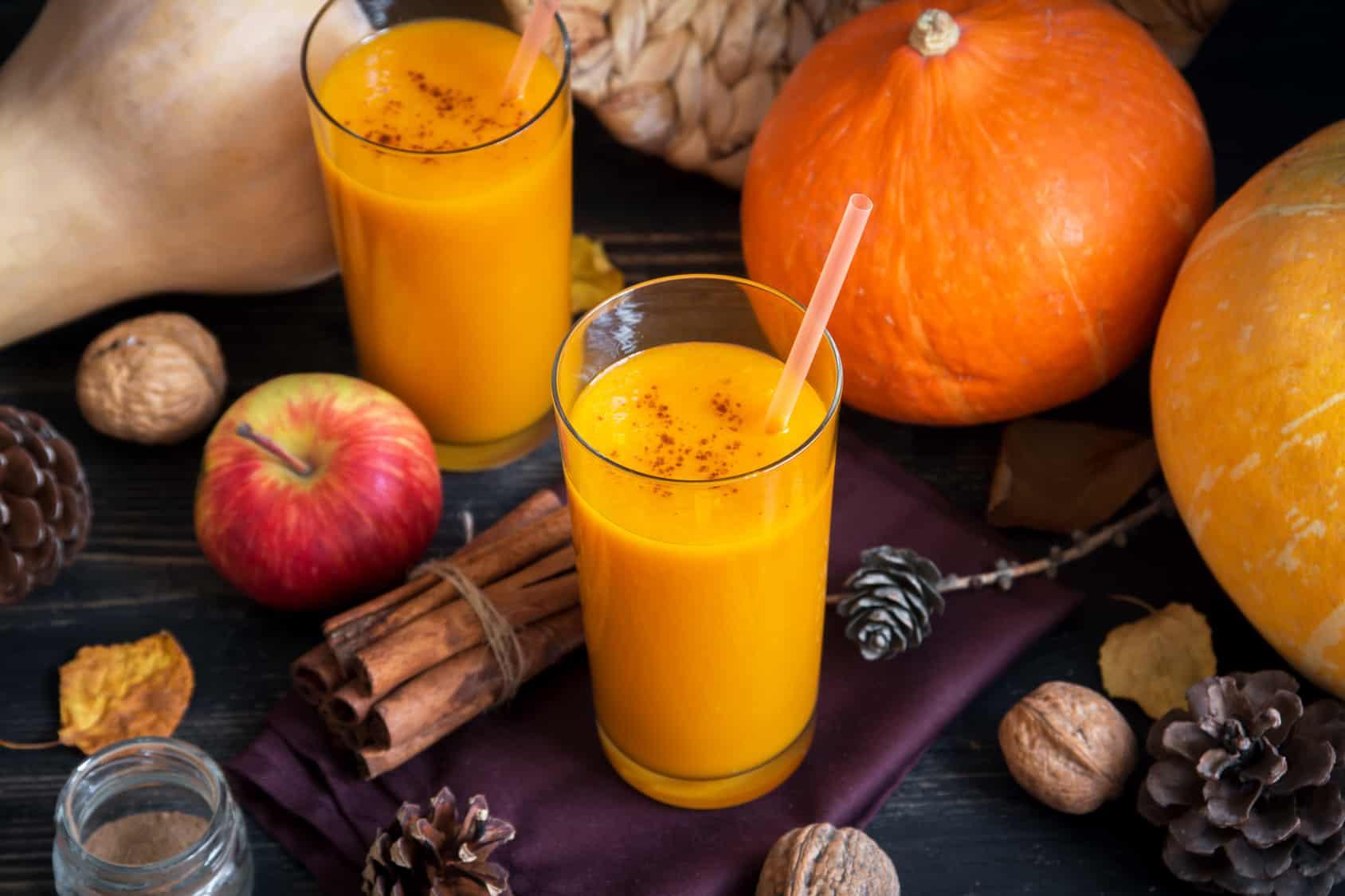 عصير اليقطين لعلاج الكولسترول والسكر في الدم