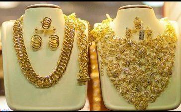 أفخم أطقم الذهب للعروس الإماراتية