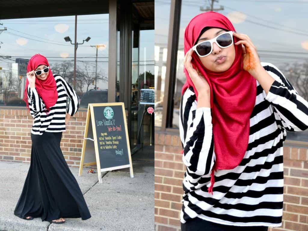 400c24e84bbb6 نصائح بسيطة لتنسيق لون الحجاب مع الملابس