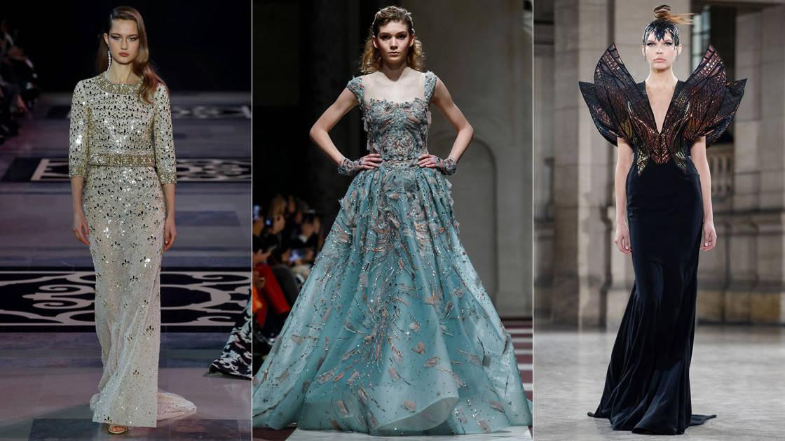 9cfd30a75 طرح مجموعة من المصممون اللبنانيون فساتين سهرة فخمة لفتت انتباه الحضور في  أسبوع الموضة بباريس تميزت بتصاميمها الرائعة وألوانها الجريئة. أتمنى أن تنال  إعجابك.