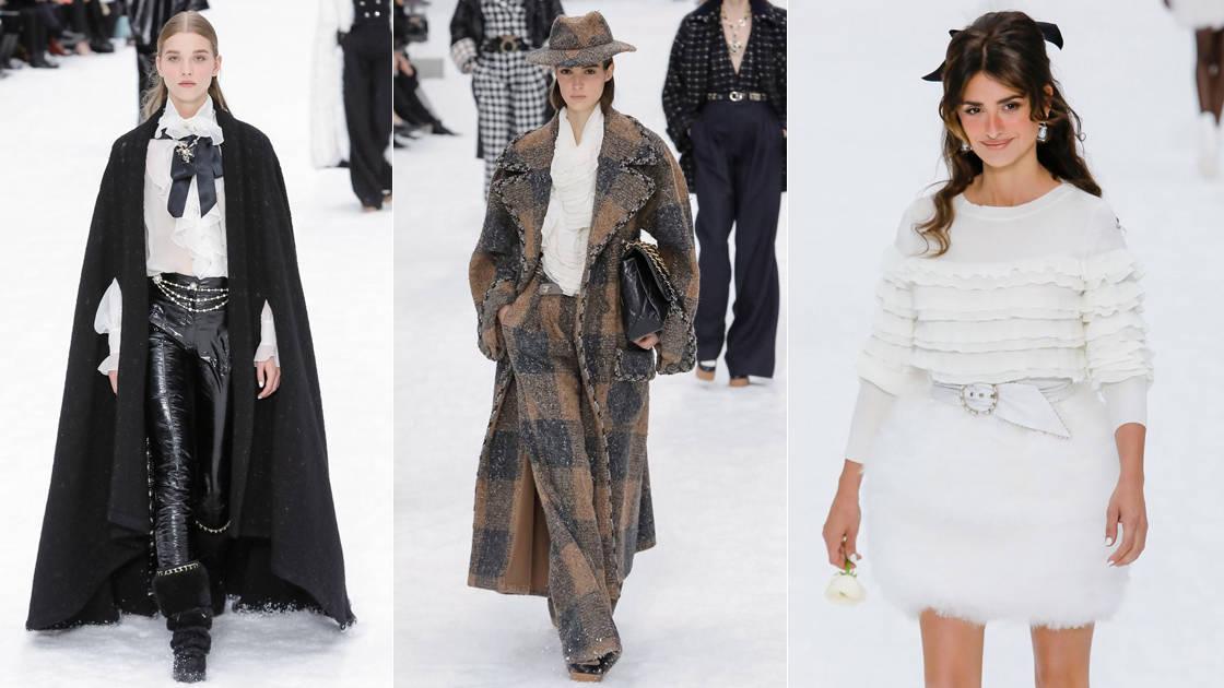 أزياء تحيي كارل لاغرفيلد من دار شانيل بأسبوع الموضة بباريس