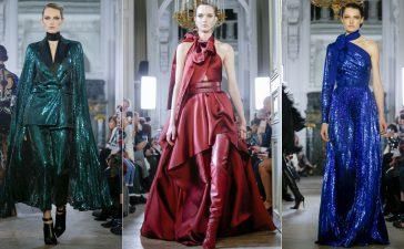 أزياء وفساتين إيلي صعب بوحي من الثمانينات
