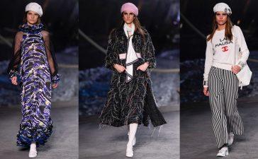 أزياء شانيل من وحي الثمانينات ضمن مجموعة ريزورت 2019