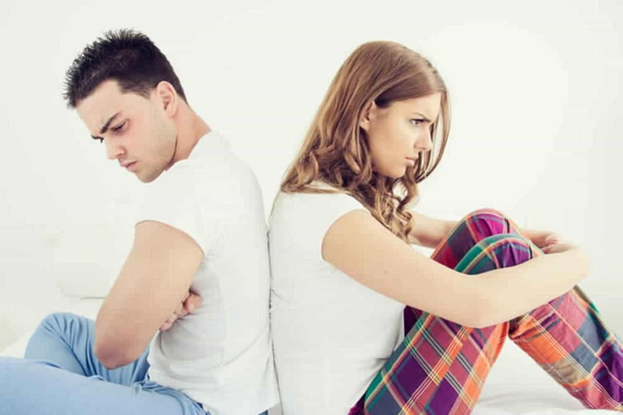 أسباب المشاكل الزوجية
