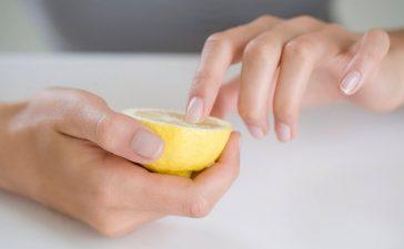 وصفات الليمون لتقوية الأظافر وللحد من تقصفها