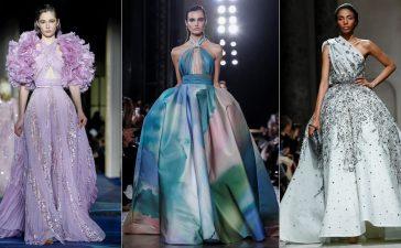 تصاميم ناعمة لفساتين الخطوبة لموضة ربيع 2019