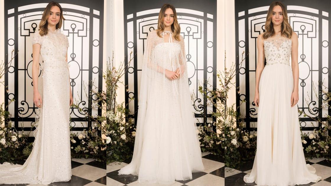 كوني أميرة مع فساتين زفاف جيني بيكهام لربيع 2020