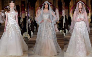 لعروس العيد إليك أجمل فساتين الزفاف المنفوشة