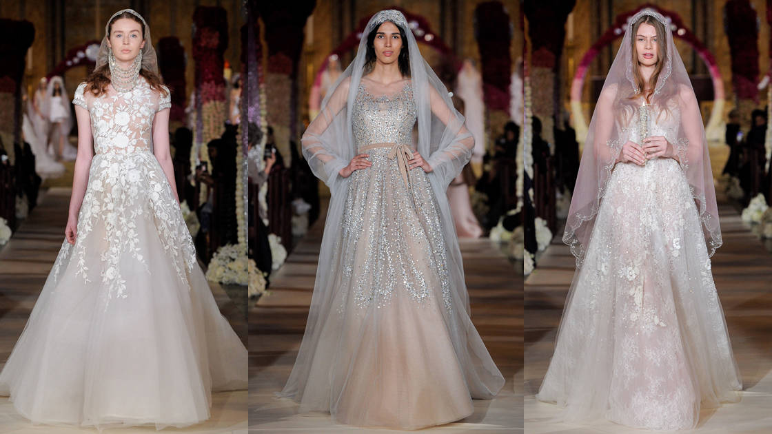 5ef4c5c96a67d لعروس العيد إليك أجمل فساتين الزفاف المنفوشة
