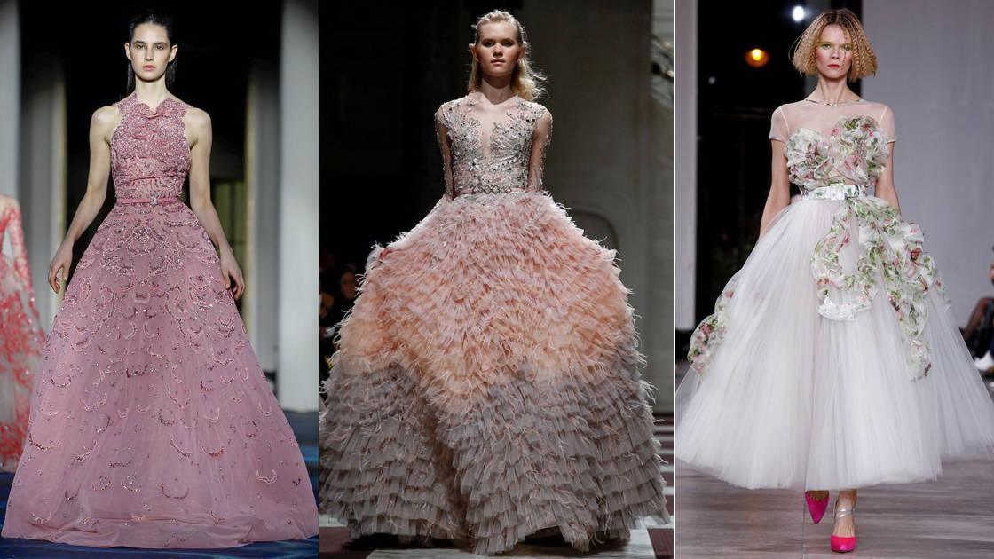 378c6fb8d تصاميم رائعة لفساتين سهرة منفوشة من توقيع أشهر الماركات العالمية ...