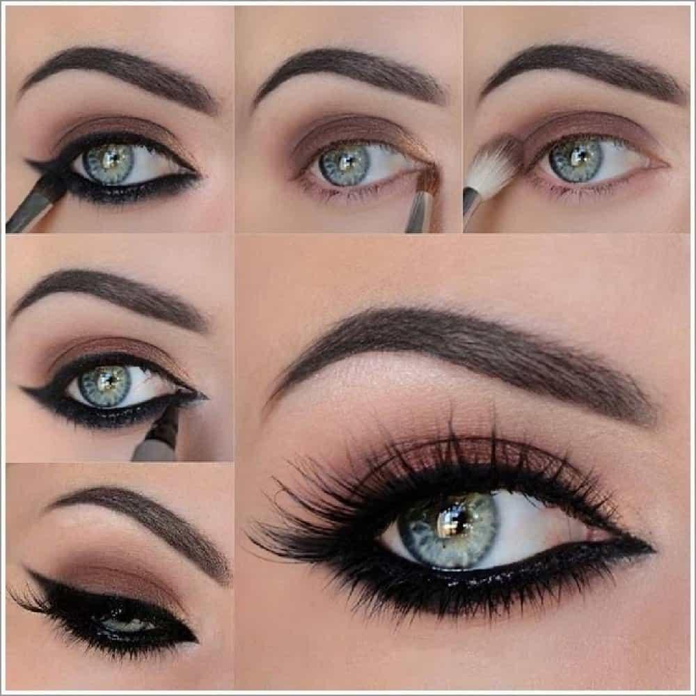تعلمي طريقة رسم العيون باستخدام الآيلاينر خطوةً بخطوة