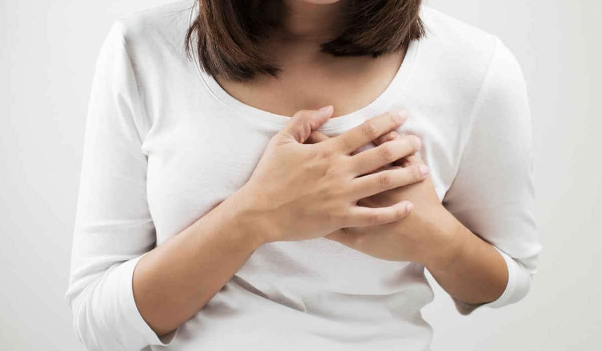 ألم الصدر عند الحامل