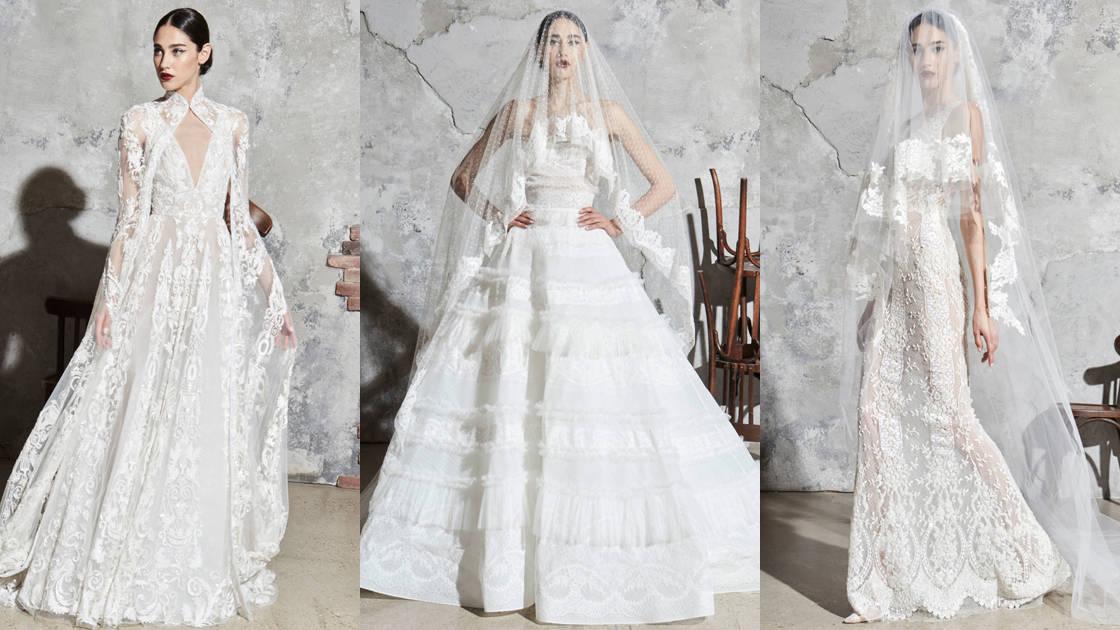 مجموعة زهير مراد الجديدة لفساتين زفاف ربيع وصيف 2020