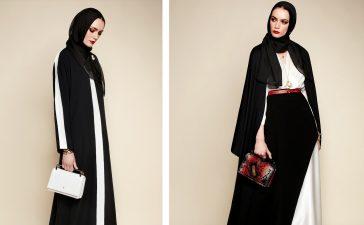 موديلات فخمة من العبايات السوداء لإطلالة رمضان