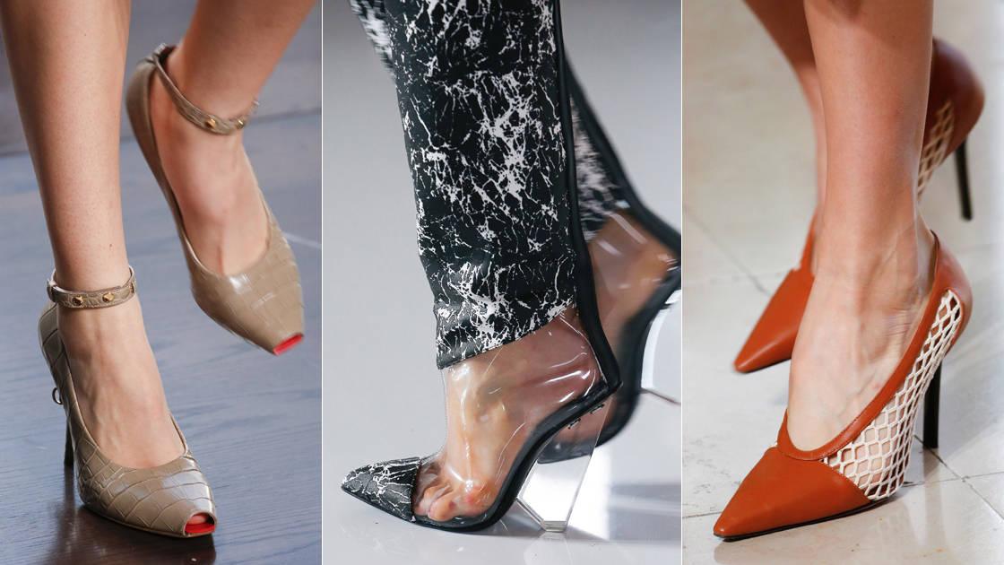 تشكيلة رائعة من الأحذية من عروض ربيع وصيف 2019