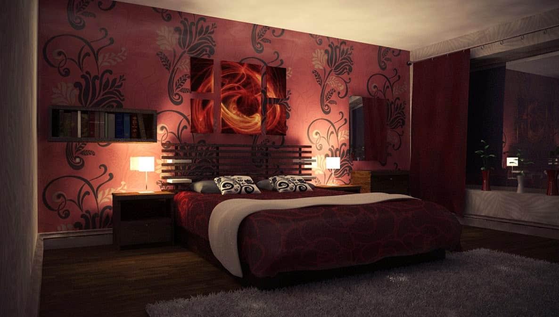ديكورات غرف نوم رومانسية