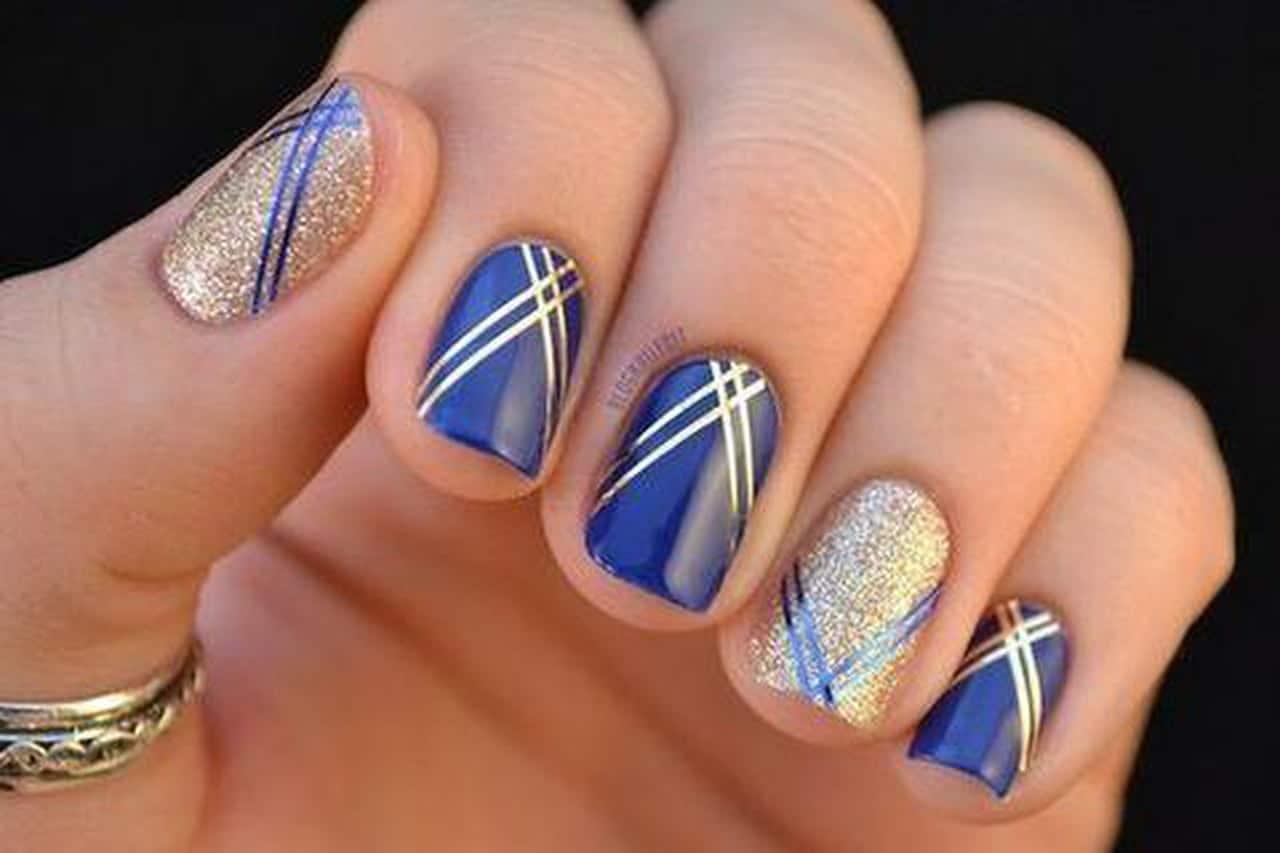 Luxury Nail Art Design: بالصور: ألوان مناكير عصرية مناسبة للسهرات