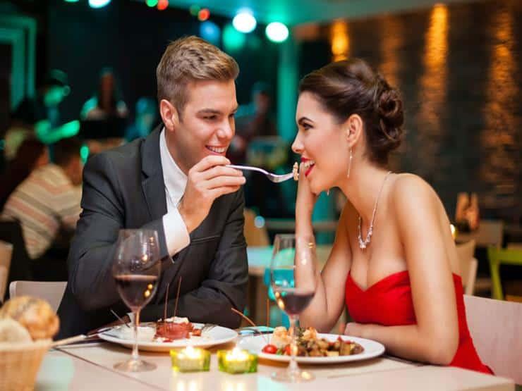 مطعم رومنسي