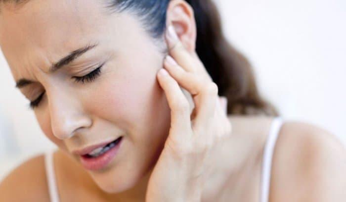 التهاب الغدد اللمفاوية خلف الأذن