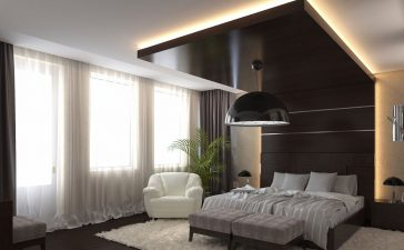 ديكورات غرف نوم مستوحاة من أجنحة الفنادق