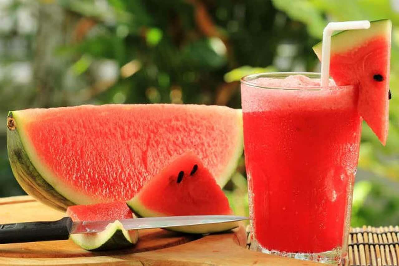 عصير البطيخ لحرق الدهون