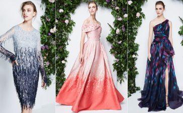 تصاميم رقيقة لفساتين الخطوبة من باميلا رولاند