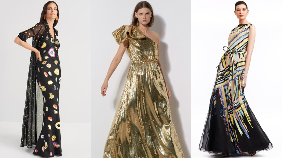تصاميم فخمة لفساتين السهرة ضمن مجموعة ريزورت 2020