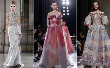 آخر الصيحات العالمية لفساتين السهرة بأنامل لبنانية