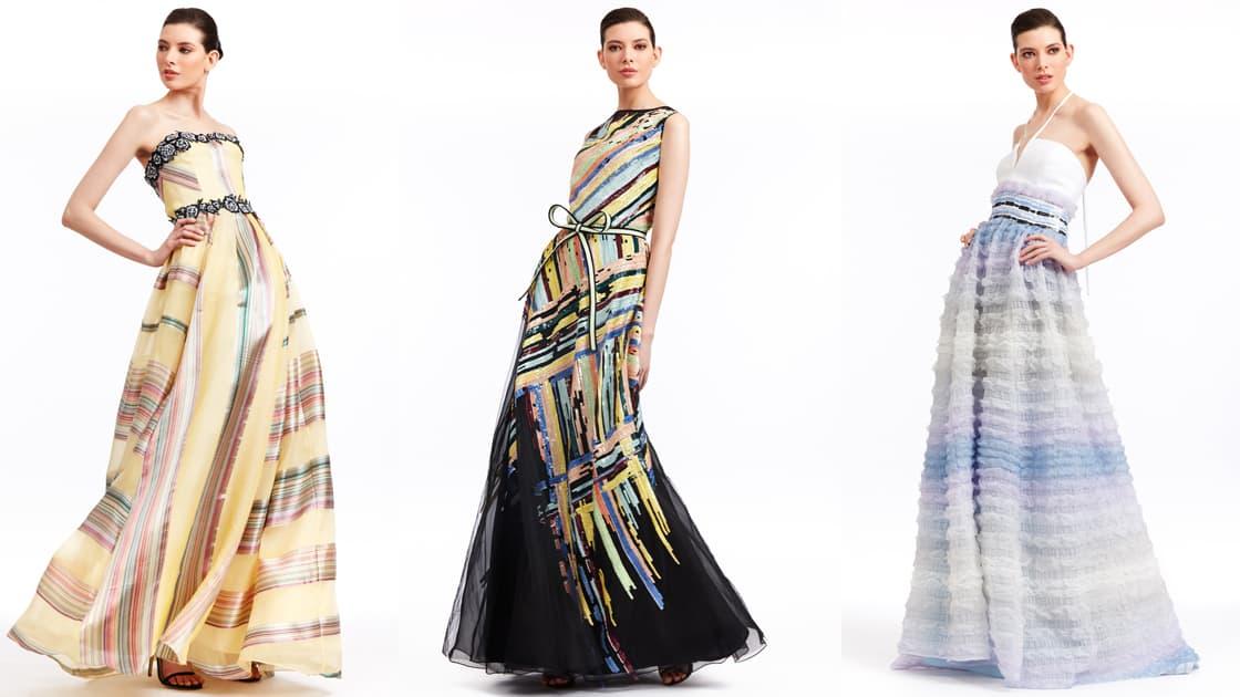تصاميم خلابة لفساتين السهرة من مجموعة دينيس باسو
