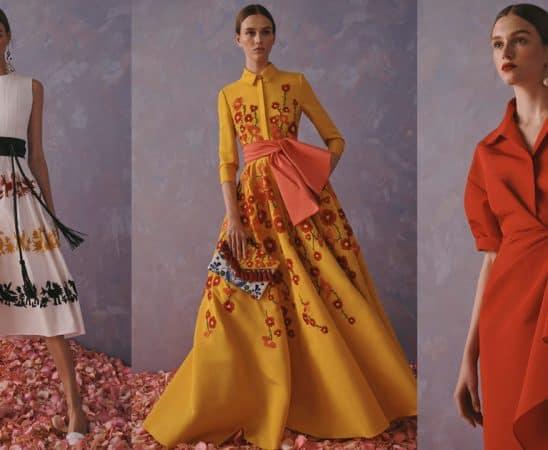 تصاميم أنثوية لكارولينا هيريرا ضمن مجموعة ريزورت 2020