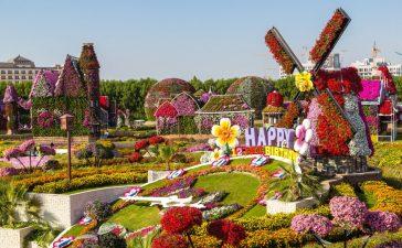 اجمل الحدائق في دبي