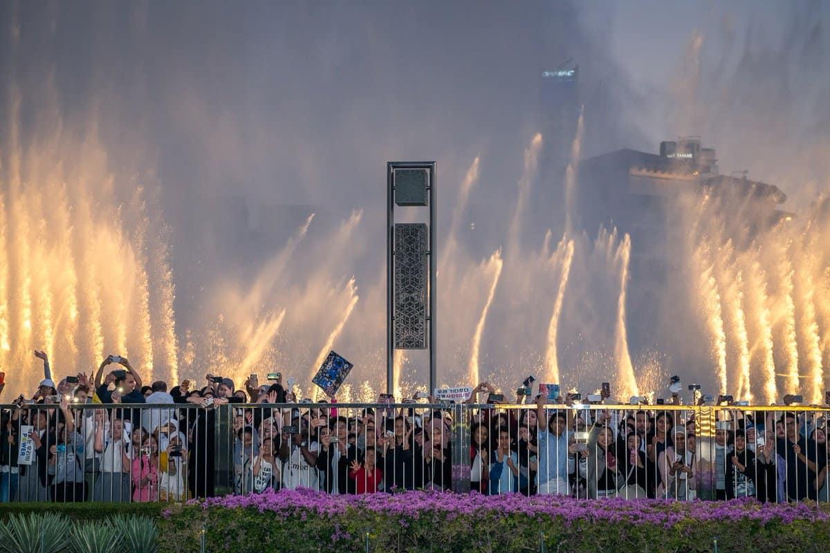 اجمل الاماكن في دبي : نافورة دبي