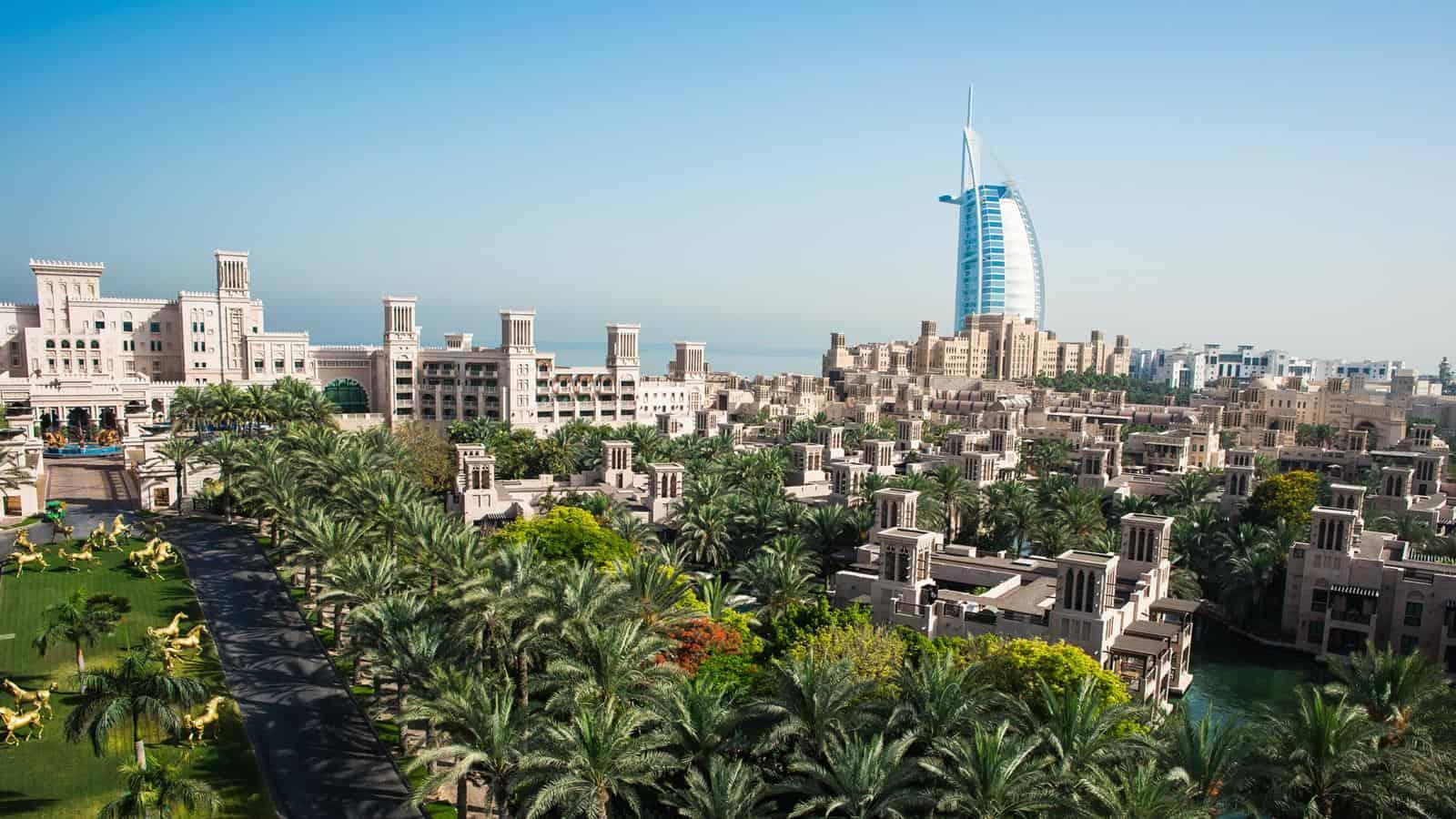 احتفالات راس السنة في دبي : مدينة جميرا