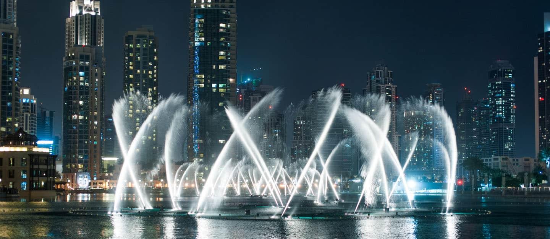 اماكن سياحيه في دبي : نافورة دبي