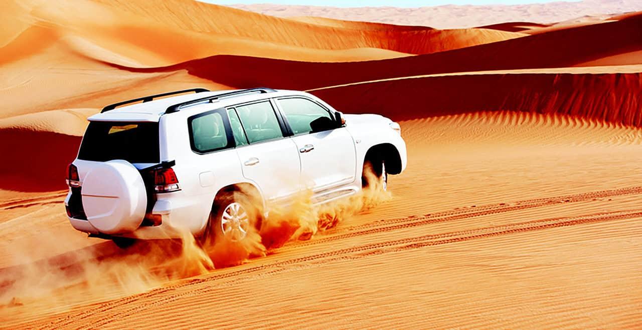 سفاري الصحراء خلال الصيف