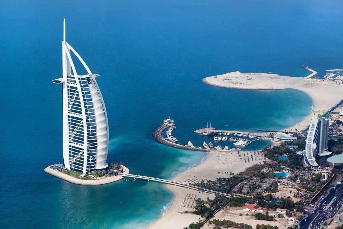 اجمل الاماكن في دبي :برج العرب