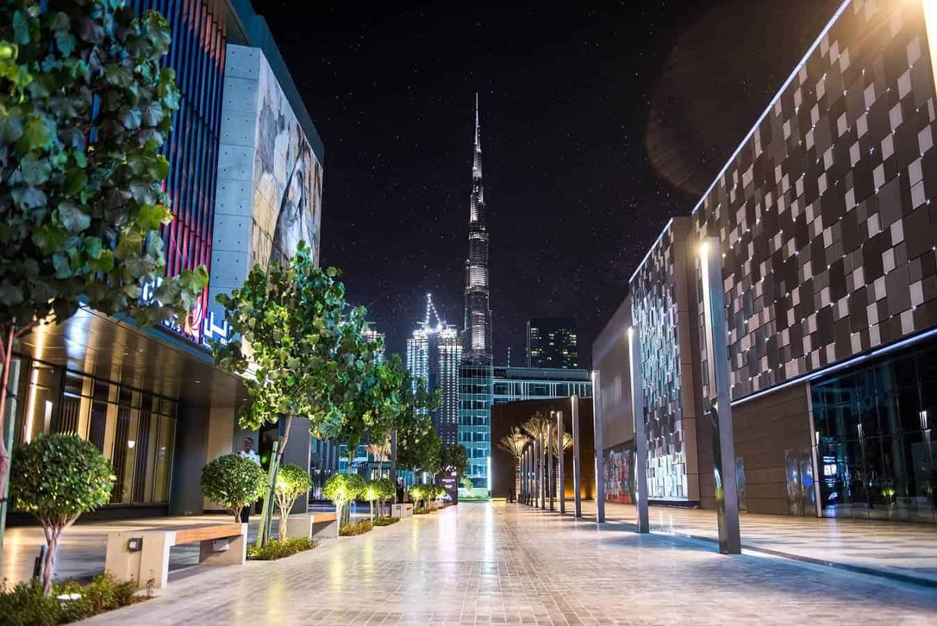 احتفالات راس السنة في دبي :القرية العالمية