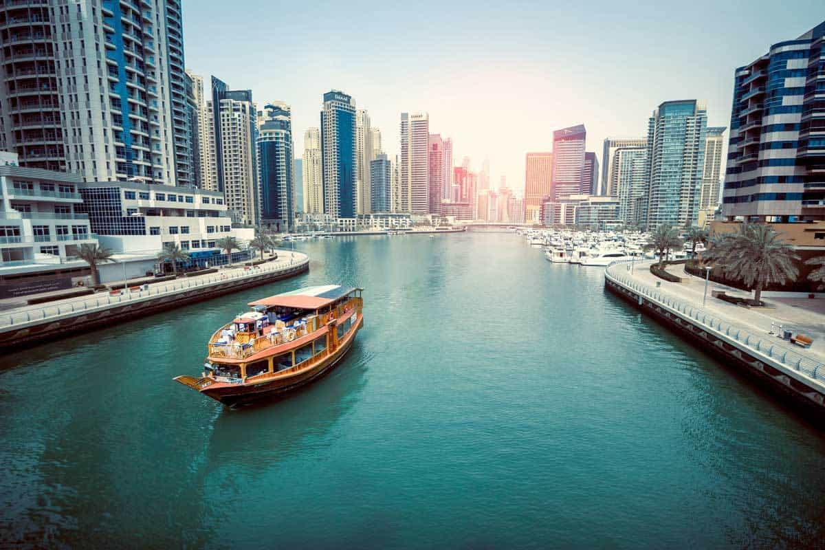 اماكن سياحية في دبي :خور دبي