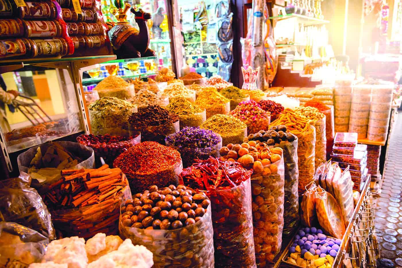 افضل الاماكن في دبي : سوق التوابل