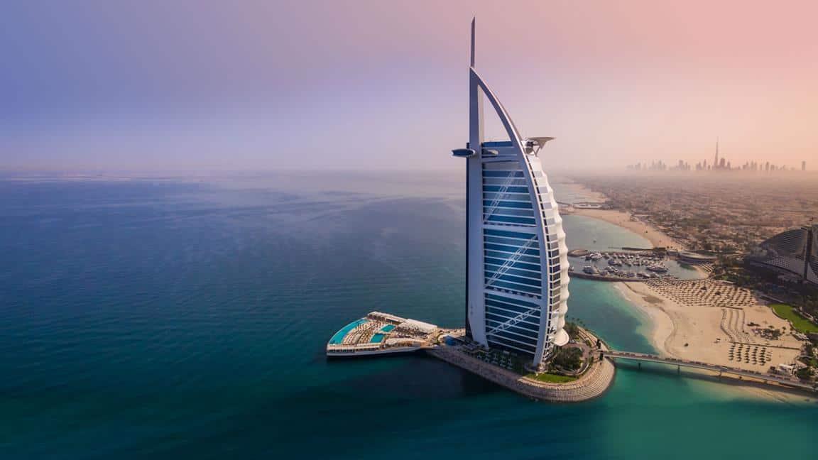 اماكن سياحيه في دبي : برج العرب
