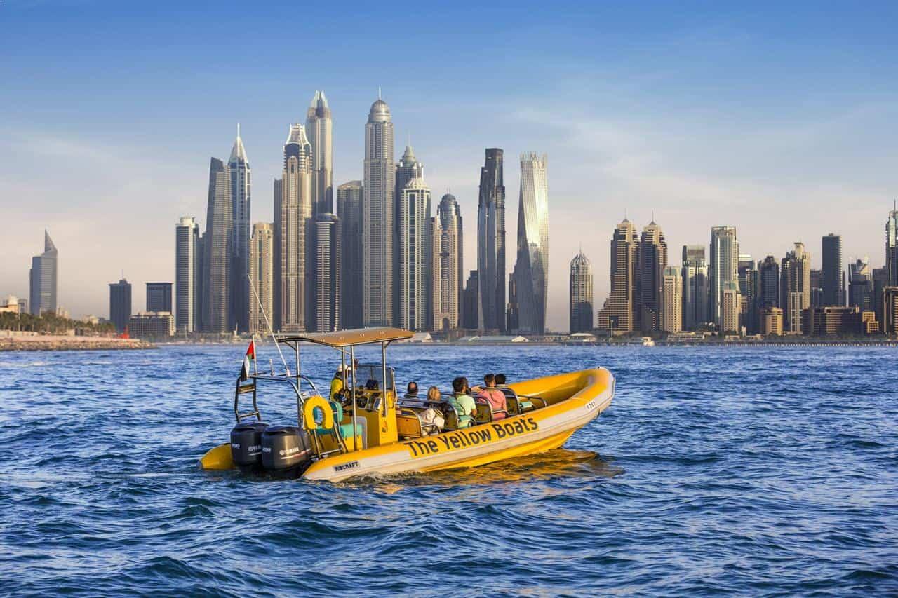 جولة القارب الأصفر