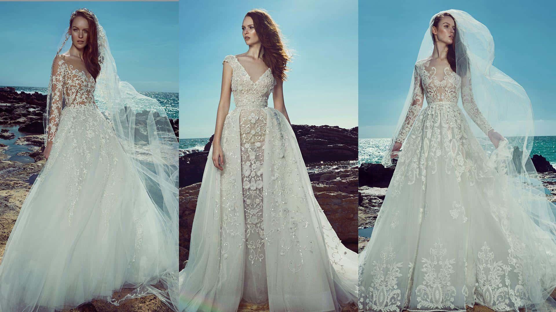 9a8b43ad4 فساتين زفاف زهير مراد لصيف 2019 تأسر القلوب | مجلة سيدات الامارات