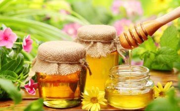 حبوب اللقاح مع العسل